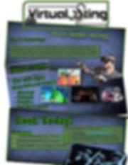 Virtual Sting Birthday PArties page