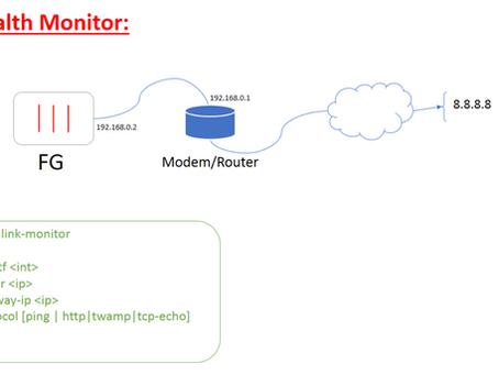 Configurando Link Health Monitor no Fortigate!!!