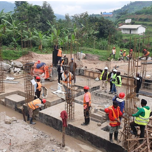 Kavumu - Powerhouse construction