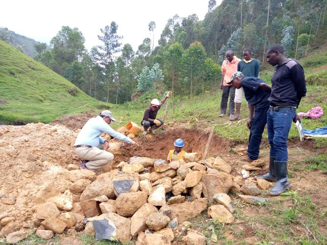 Nyirahindwe - Site supervision