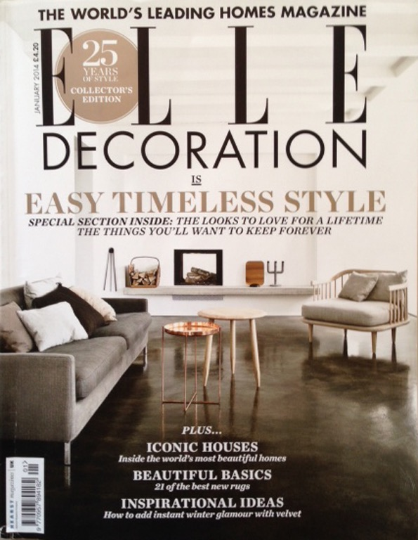 ELLE Decoration nr.01 2014