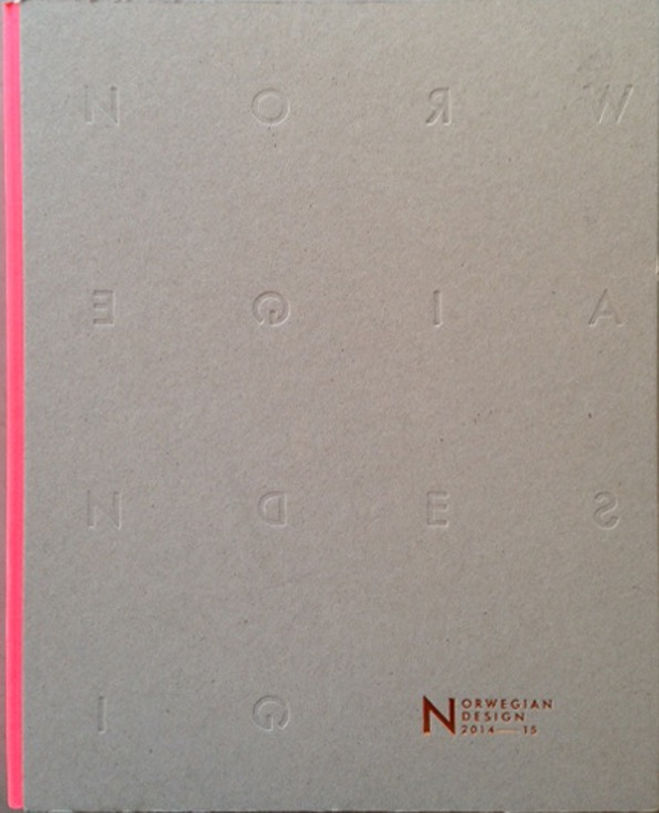 Norwegian Design 2014-2015, bok