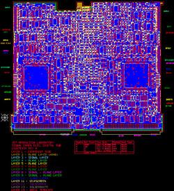 JPL (NASA): MIRI-DIGITAL PCB