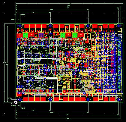 AUTO-TRONICS: CPU PROCESSOR PCB