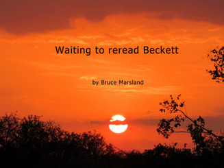 Waiting to reread Beckett
