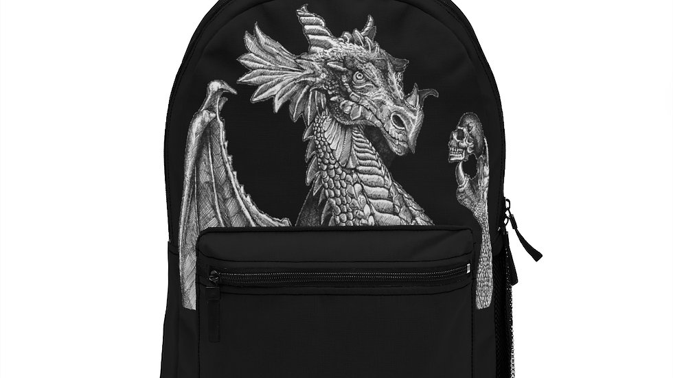 Dragon & Skull Backpack (Made in USA)