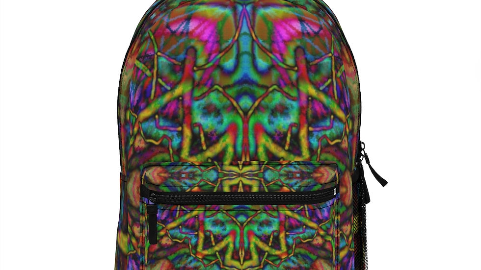 Cosmic Shop Psychedelic Backpack (Made in USA)