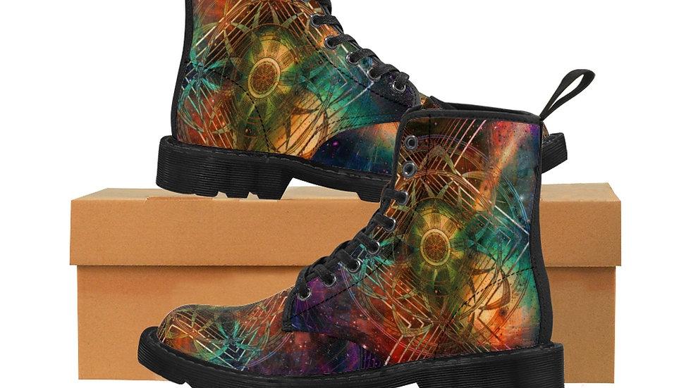 "Jay Tausig ""Resonance"" Men's Canvas Boots"