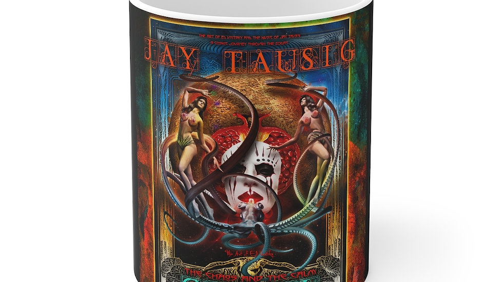 "Jay Tausig ""Trip Around The Sun"" Gemini Mug 11oz"