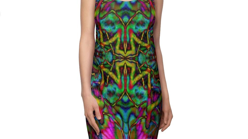 Psychedelic Women's Cut & Sew Racerback Dress