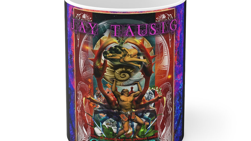 """Jay Tausig """"Trip Around The Sun"""" Cancer Mug 11oz"""