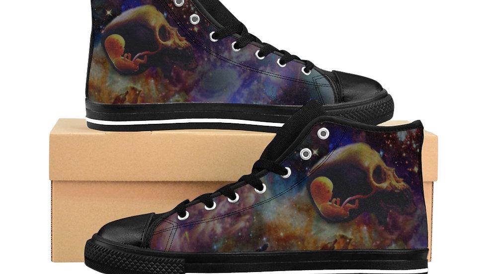 "Jay Tausig ""Opus Omnia"" Men's High-top Sneakers"