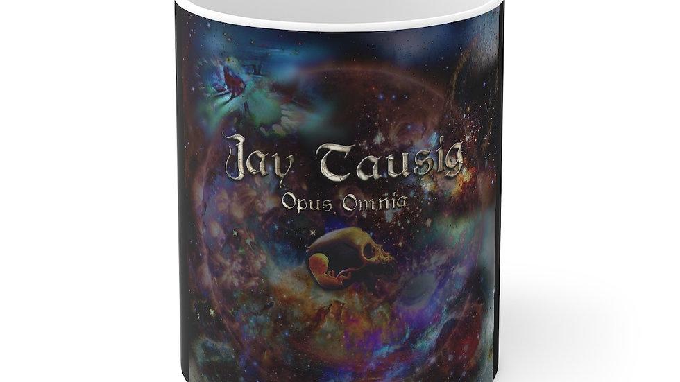 """Jay Tausig """"Opus Omnia"""" Mug 11oz"""