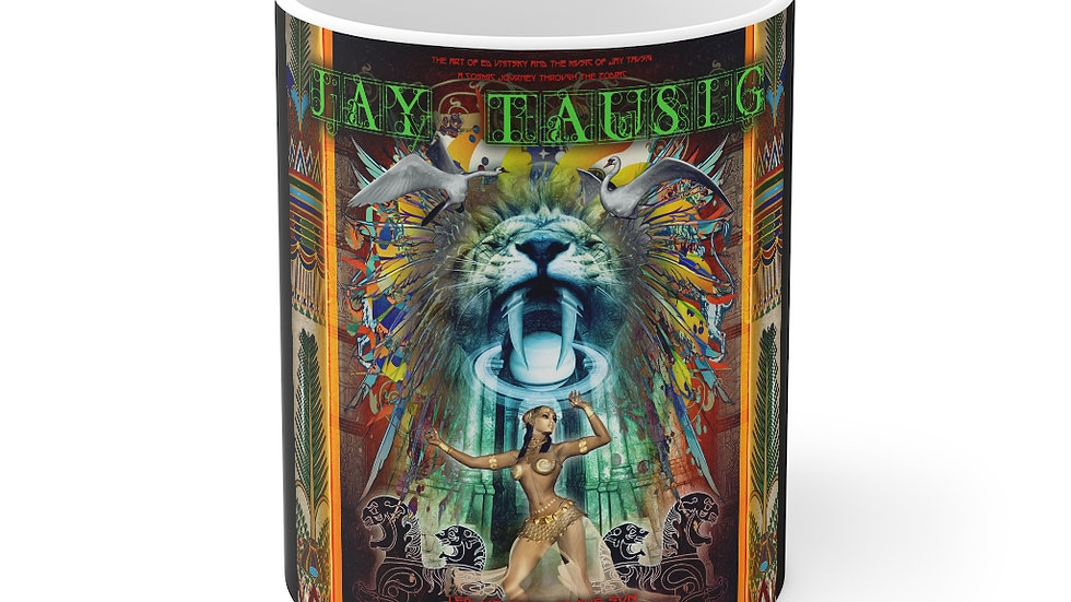"Jay Tausig ""Trip Around The Sun"" Leo Mug 11oz"