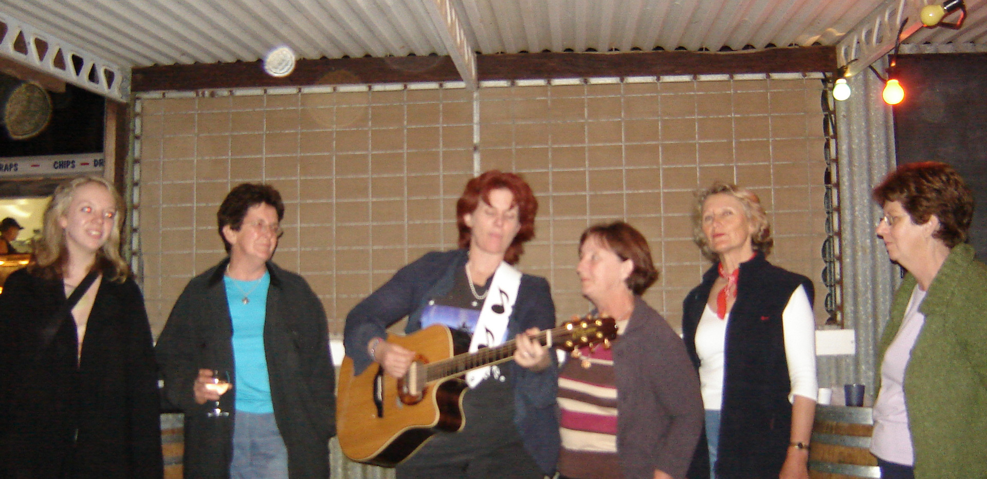 the Quinnies singing group 2006.jpg