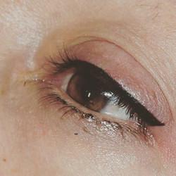 Micropigmentación Eyeliner en negro_#micropigmentacionzaragoza#zaragozatattoo#zaragozamicropigmentac