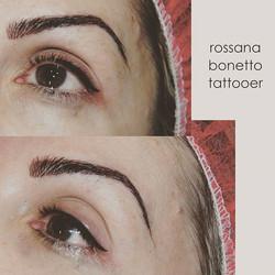 Eyes total look!_Cejas pelo a pelo y Eyeliner 👁 👁 _#micropigmentacion#micropigmentacionzaragoza#za