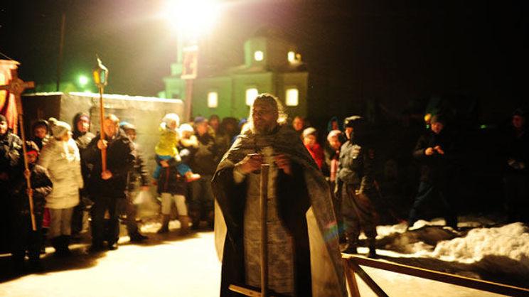 крестный ход на иордань храм зосимы и савватия села кунгурка