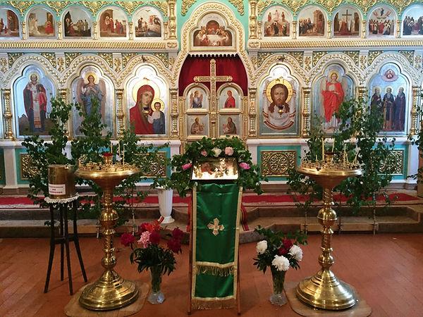 В праздник св. Троицы.JPG