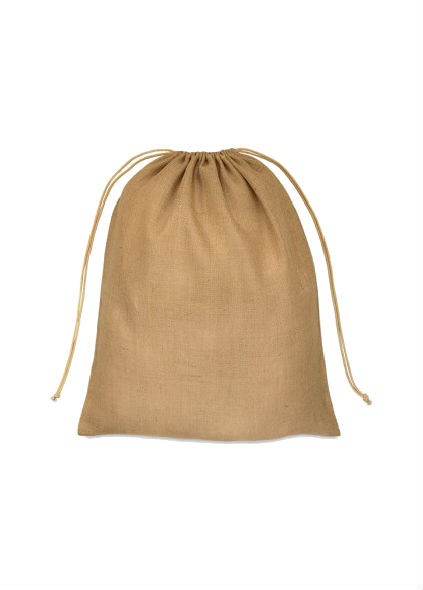 00a906c9bd Jute drawstring sack hessian pouch 3 sizes plain or personalise multipack