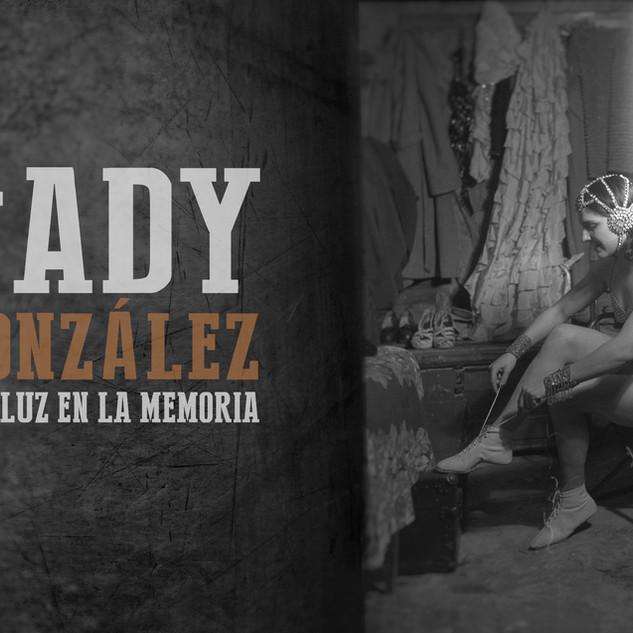 Diseño de créditos para el documental Sady González una luz en la memoria.