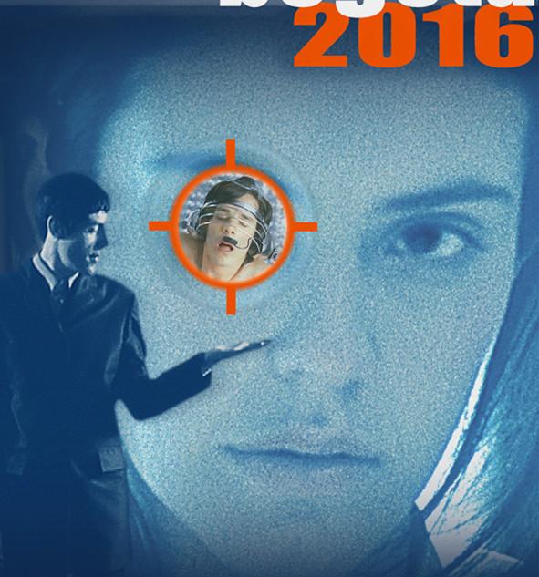 """Cartel para la película """"Quien paga el pato"""" Bogotá 2016."""