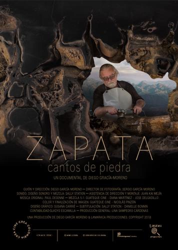 Zapata, cantos de piedra. 2018.