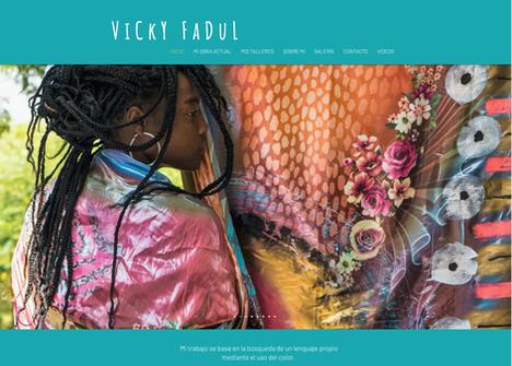 Web de Vicky Fadul