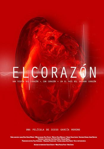 Cartel para el documental El Corazón de Diego García-Moreno