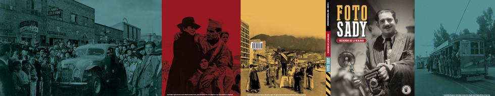 Carátula abierta Libro FOTO SADY Recuerdos de la realidad.