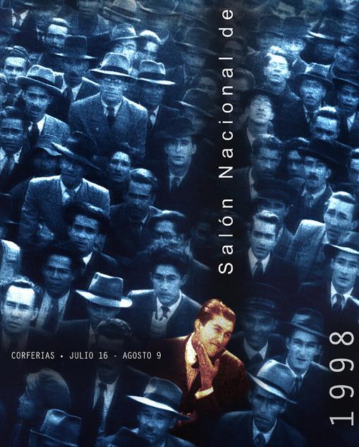 Cartel para el 37 Salón Nacional de artistas