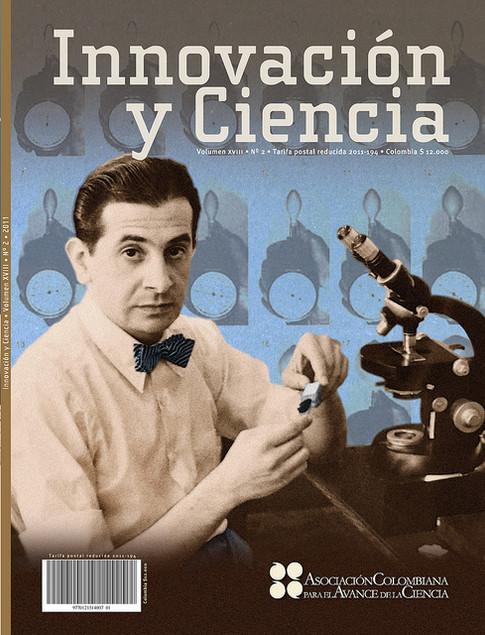 Diseño de la revista Innovación y Ciencia 2009 a 2013