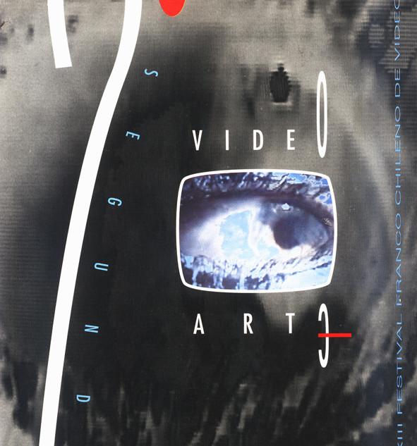 Diseño de imagen y catálogo para el 2 Festival de Video-Arte Franco-latinoamericano