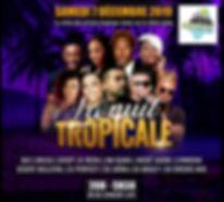 Concert show Nuit Tropicale 2019