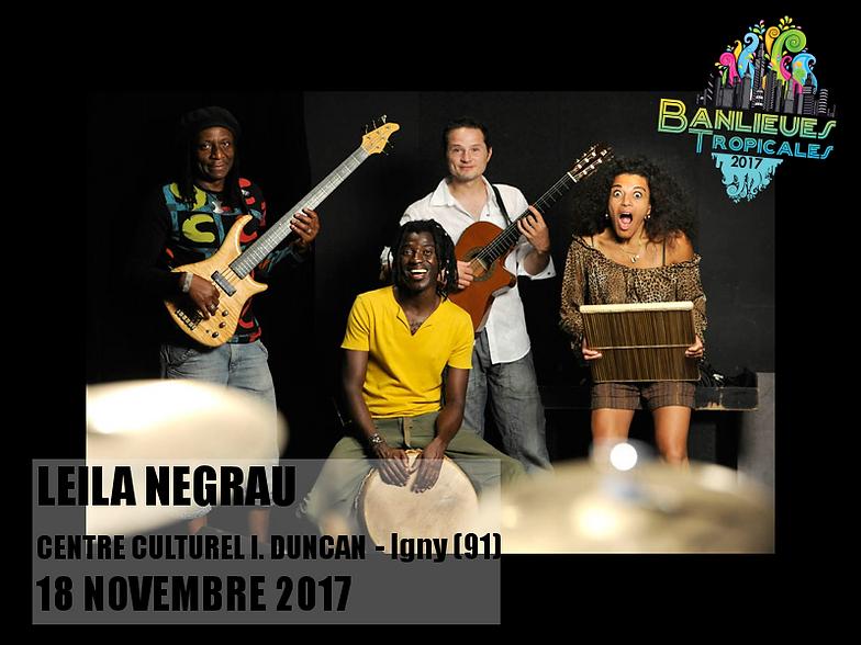 """Résultat de recherche d'images pour """"Léïla NEGRAU Festival Banlieue tropicales"""""""