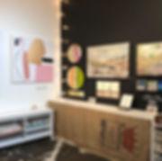 My studio setup for the Eastside Culture Crawl