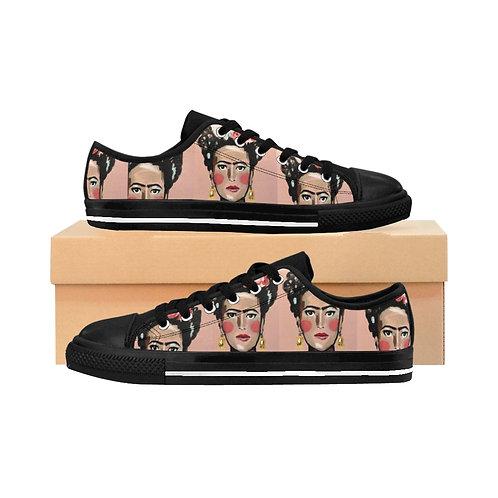 Frida Kahlo -  Artist Designed Women's Sneakers