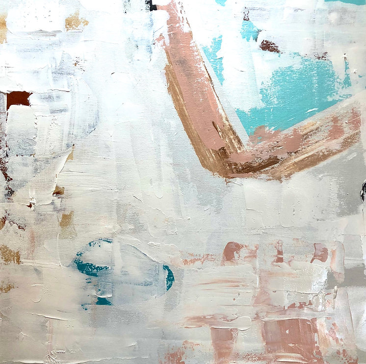 Abstract Mixed Media on Canvas .JPG