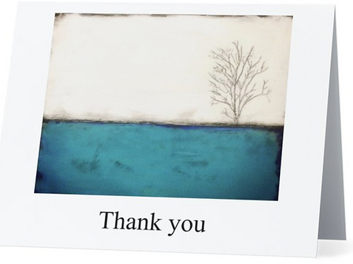 Thank You Art Card