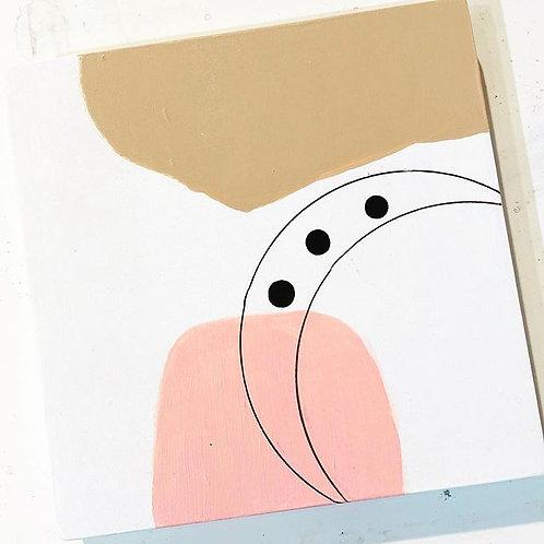 Original Art -Mid Century Modern Abstract