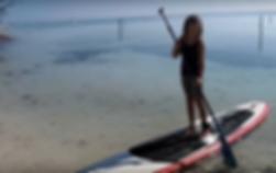 Undertoe Mexico sup adventures in Mahahual beach