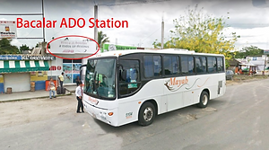 Bacalar bus station
