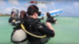 Scuba Diving in Mahahual Beach