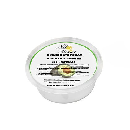 Raw Avocado Butter/ Beurre d'Avocat brut