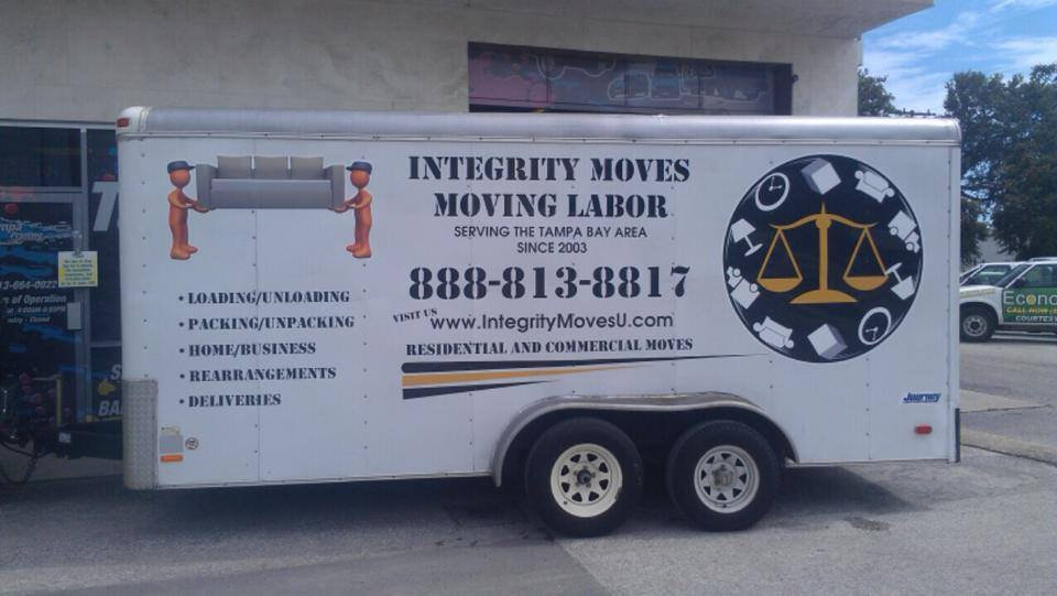 Moving Trailer + Labor