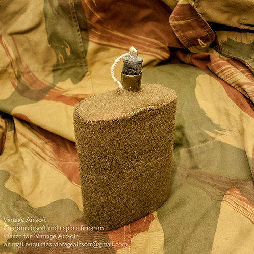 British canteen cork, rubber stopper WWI, WWII