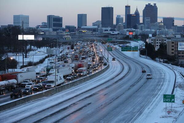 Atlanta, Georgia, Snowpocalypse