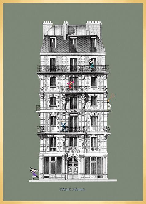 Illustration PARIS SWING