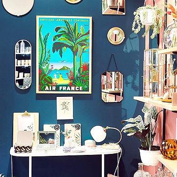 image de l'interieur du magasin Caboodle, qui vend des illustrations de chez paradisio imaginarium