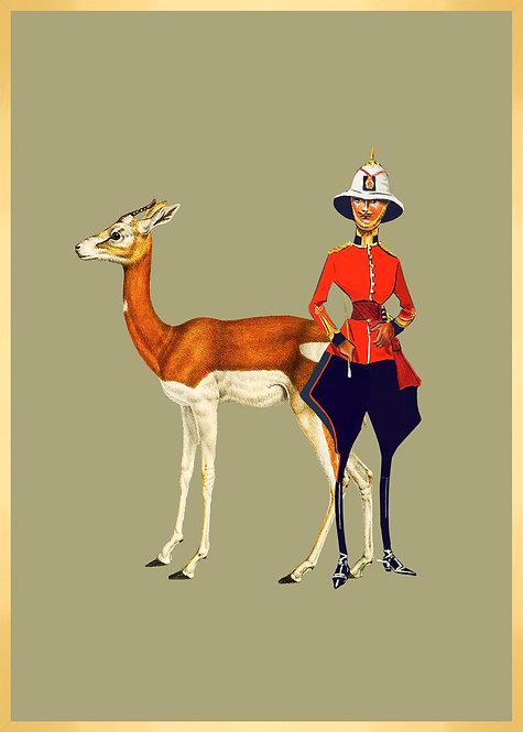 Monsieur Louis et son amie l'antilope